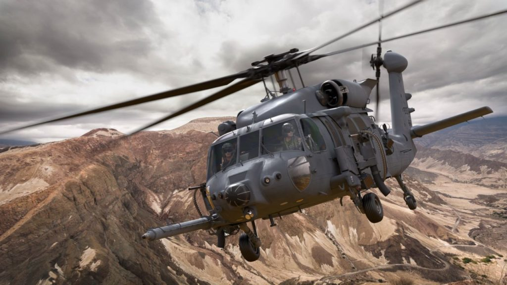 Lockheed Martin Combat Rescue Helicopter